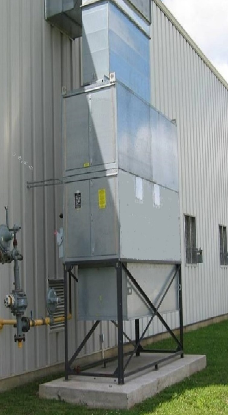Industrial Spray Booth Heaters for Building Air Replacement