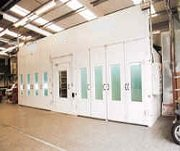 Selecting a Modified Downdraft Paint Booth