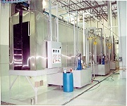 Pit Downdraft Paint Booth Air Makeup