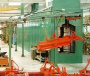 Automotive Pit Downdraft Paint Booths